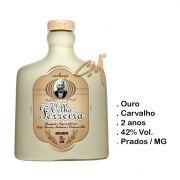Cachaça Velho Ferreira Ouro 120 ml   (Prados - MG)