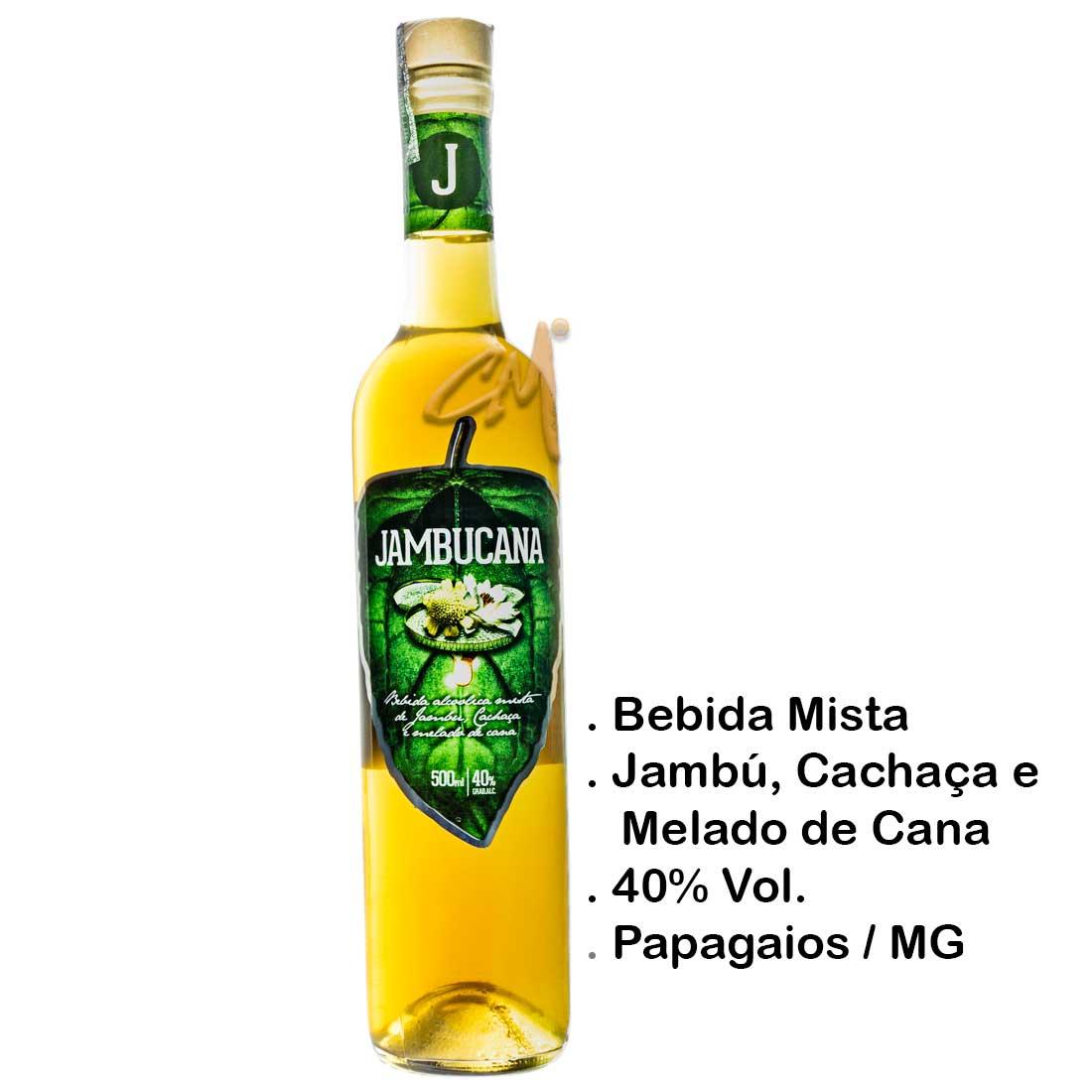 Bebida Mista Jambucana 500 ml (Papagaios - MG)