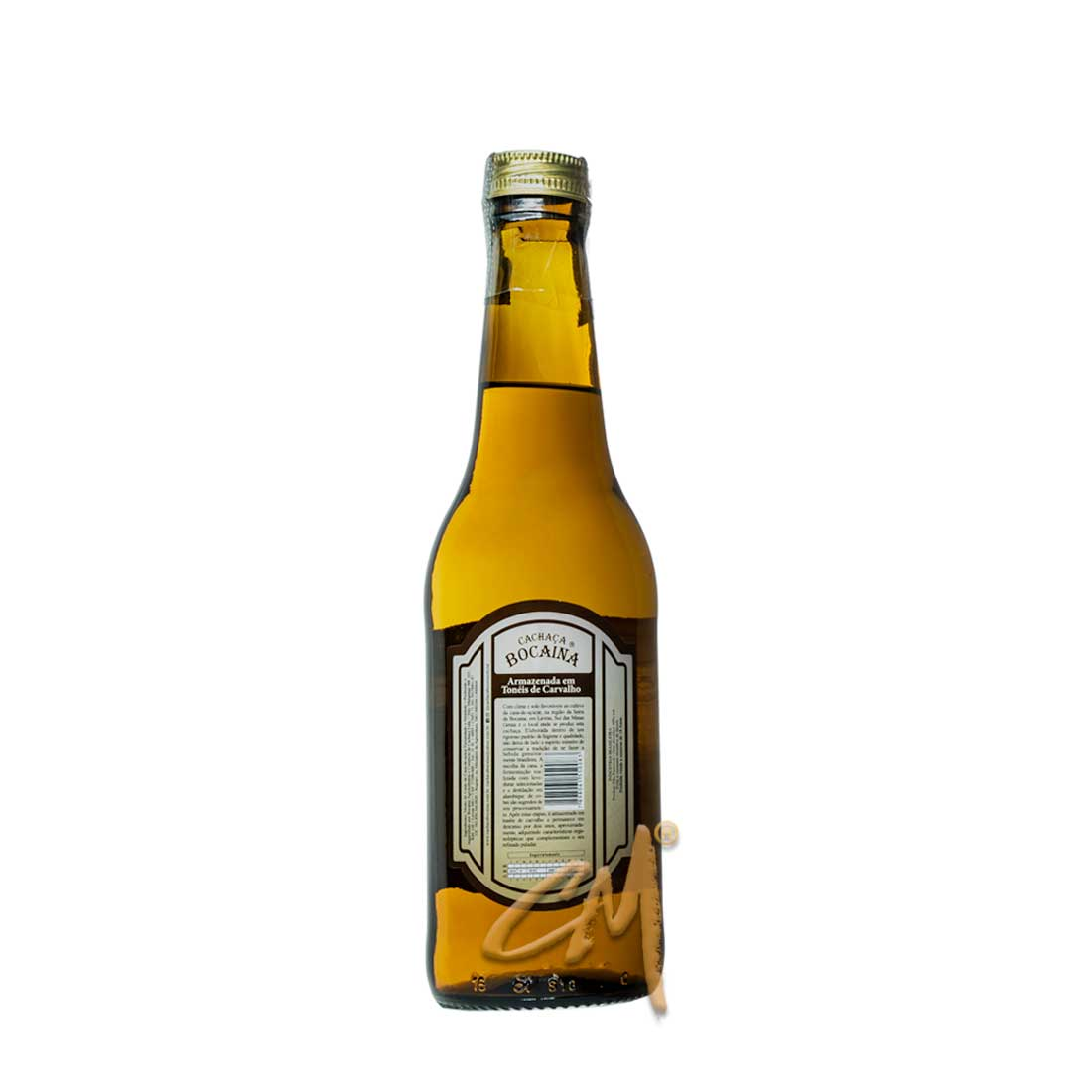 Cachaça Bocaina Carvalho 300 ml (Lavras - MG)