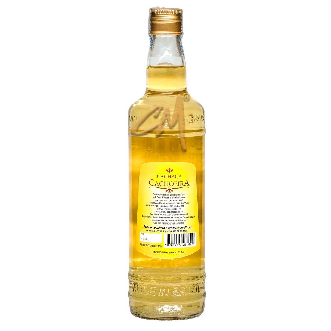 Cachaça Cachoeira 670 ml (Salinas - MG)