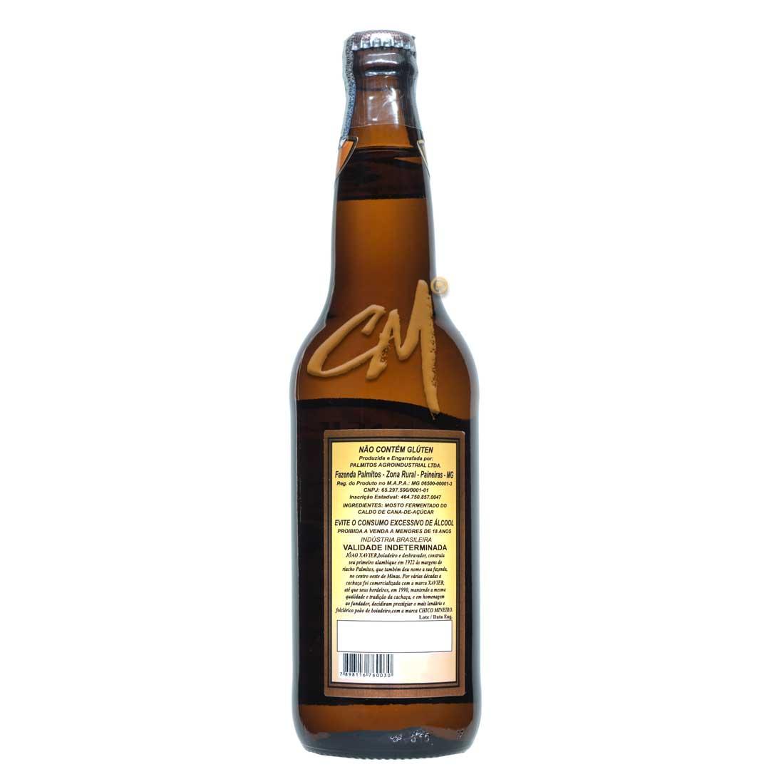 Cachaça Canarinha 600 ml (Salinas - MG)