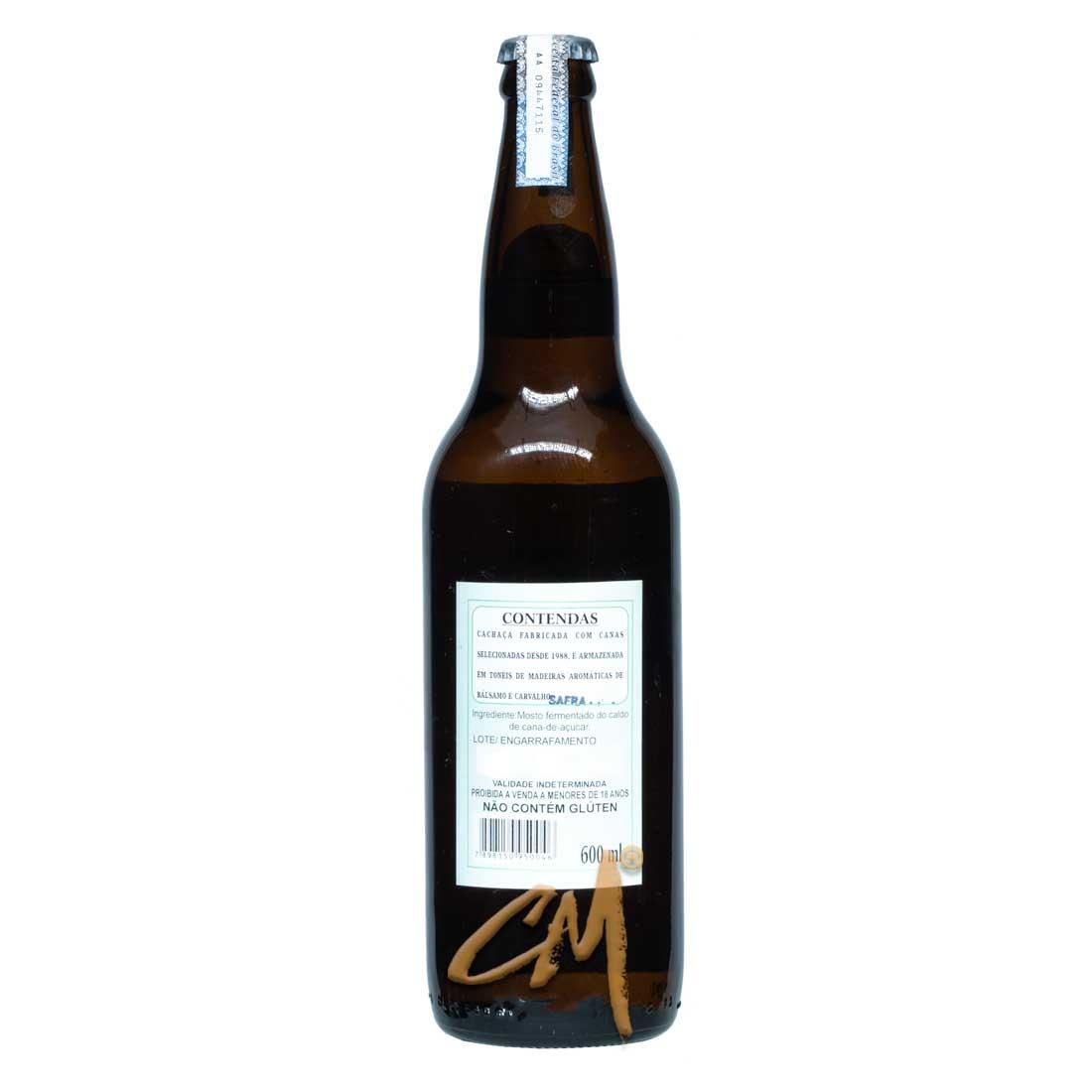Cachaça Contendas 600 ml (Salinas - MG)