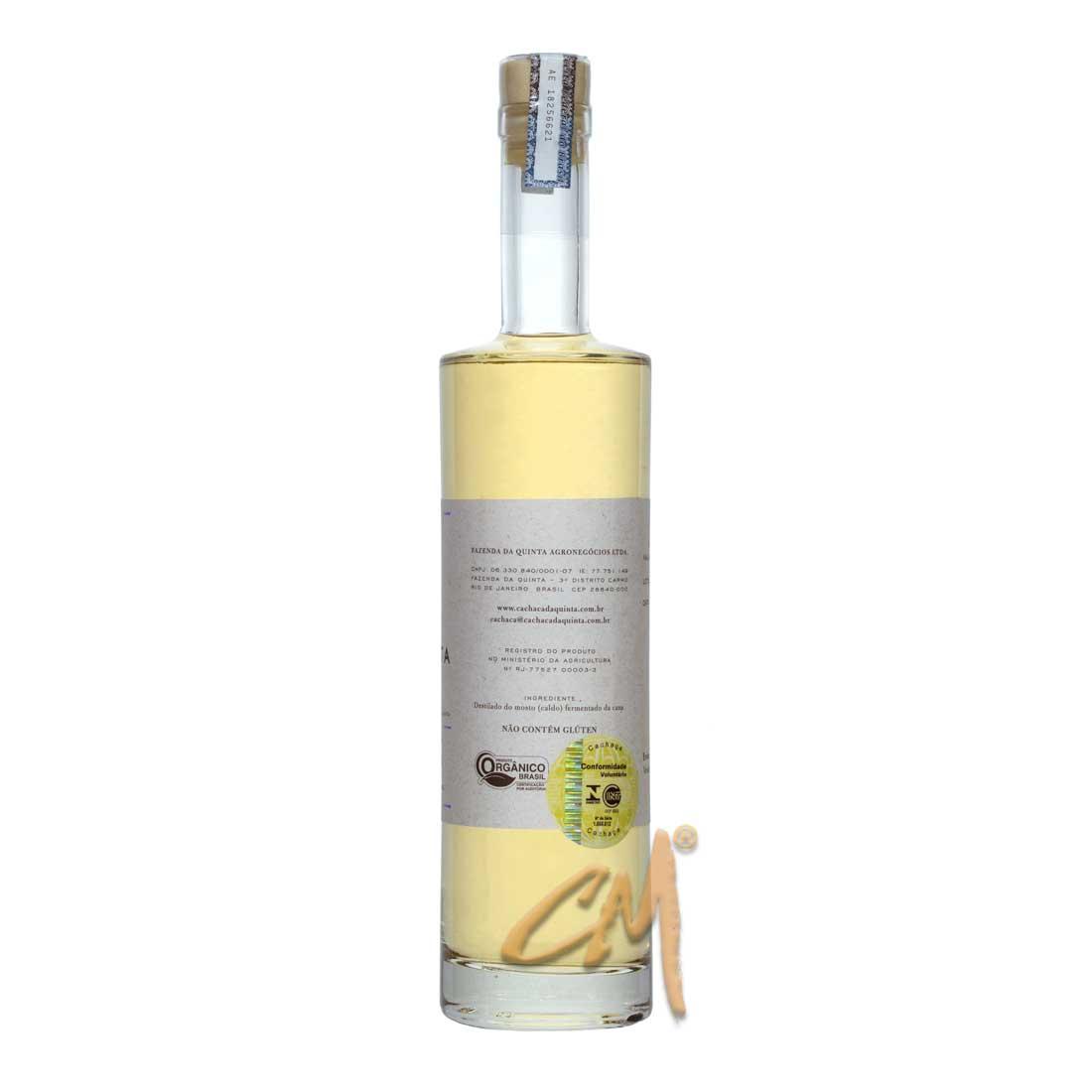 Cachaça Da Quinta Amburana 500 ml (Carmo - RJ)