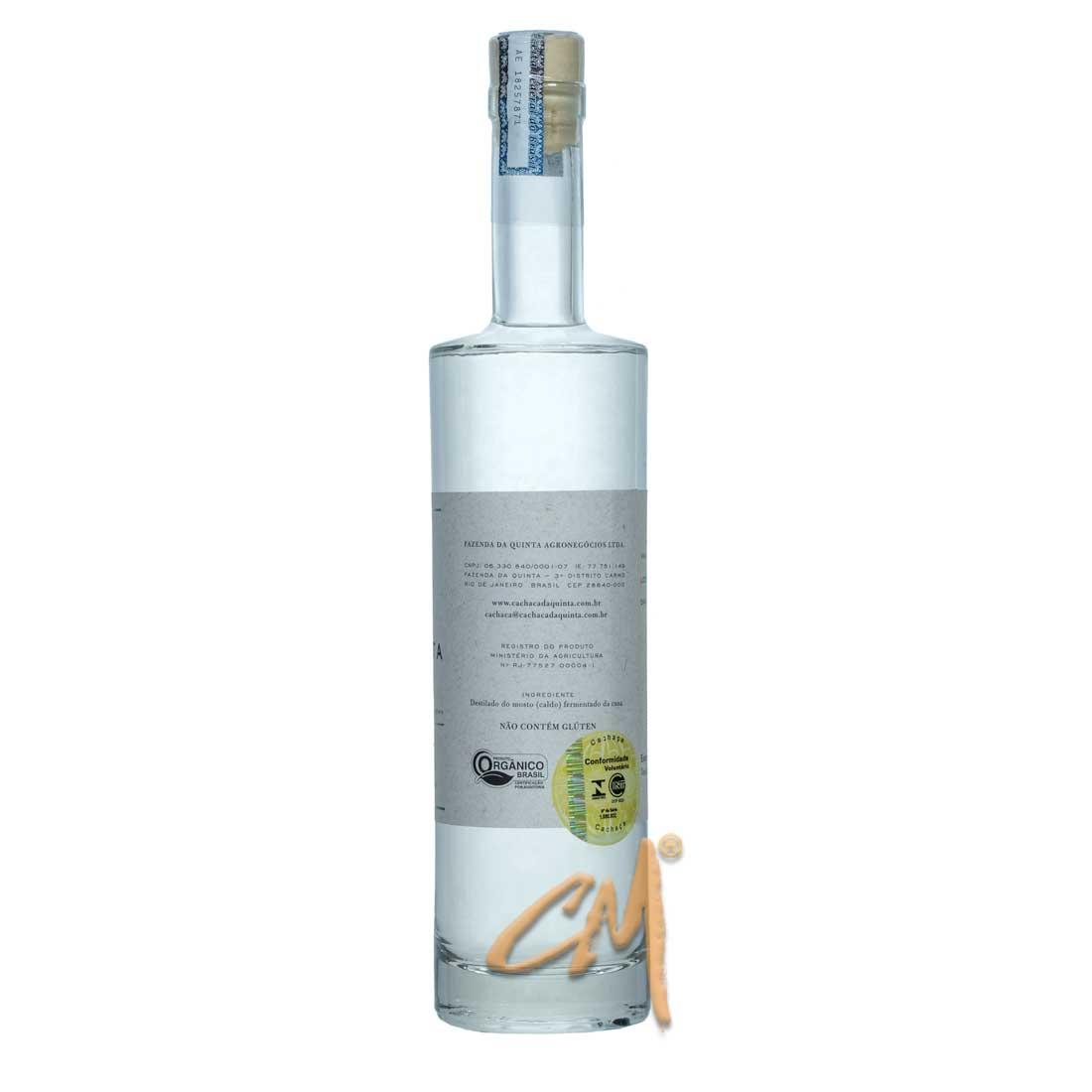Cachaça Da Quinta Prata 500 ml (Carmo - RJ)