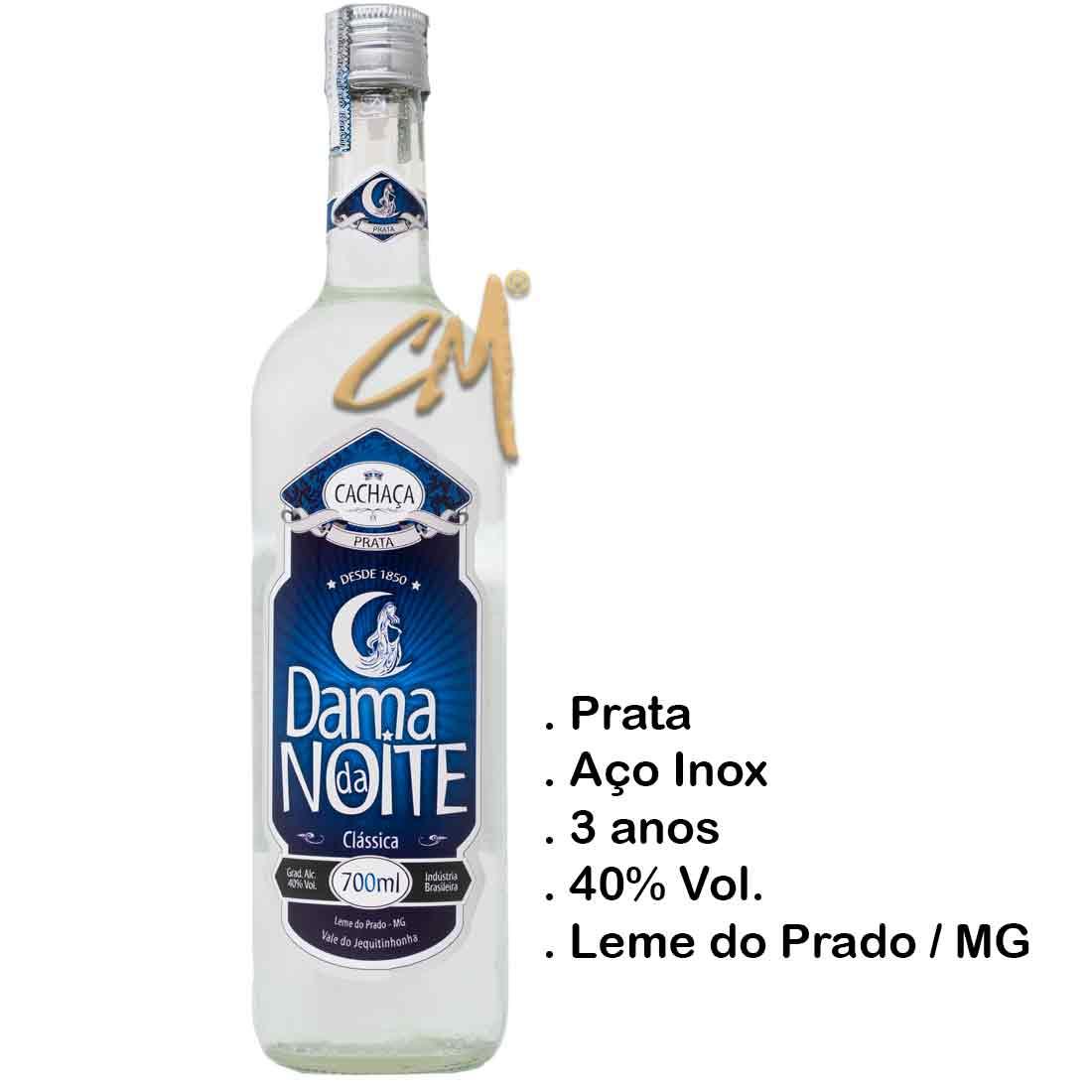 Cachaça Dama da Noite Clássica 700 ml (Leme do Prado - MG)