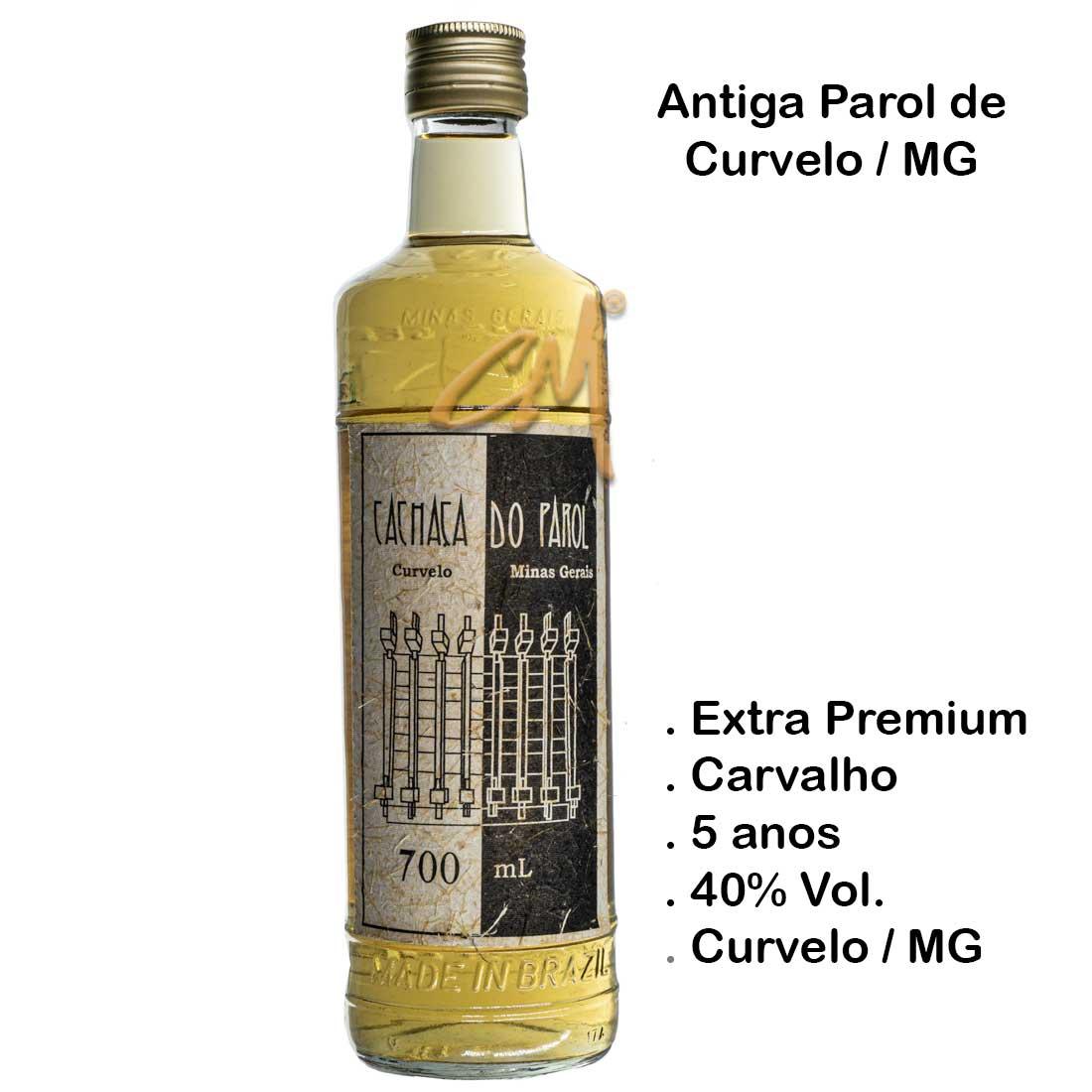 Cachaça Do Parol 700 ml - Antiga (Curvelo / MG)