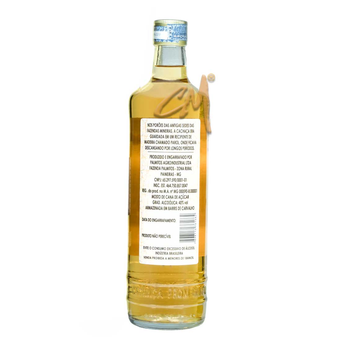 Cachaça Do Parol 700 ml (Paineiras / MG)