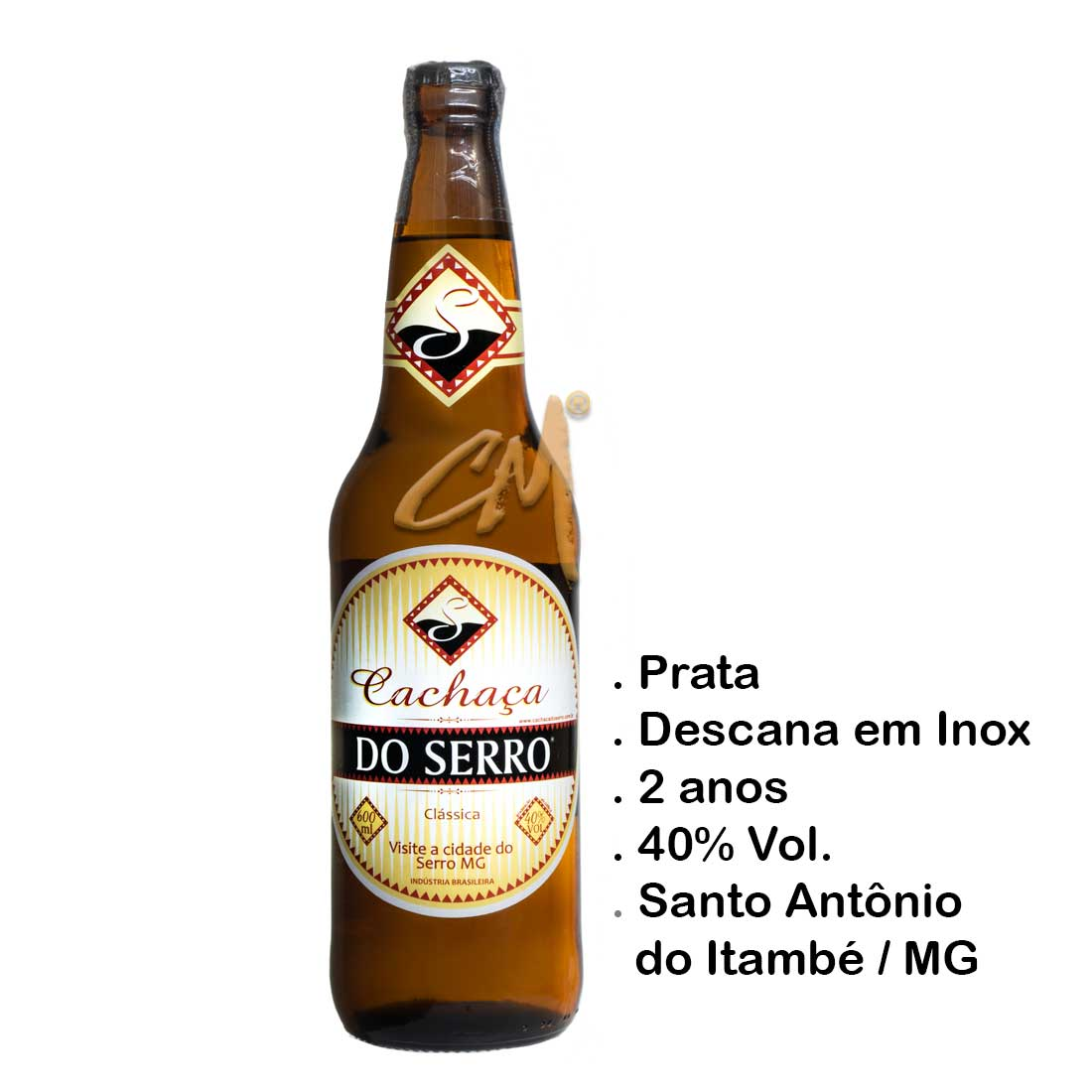 Cachaça Do Serro Jequitibá Rosa 600 ml (Sto Antônio do Itambé - MG)