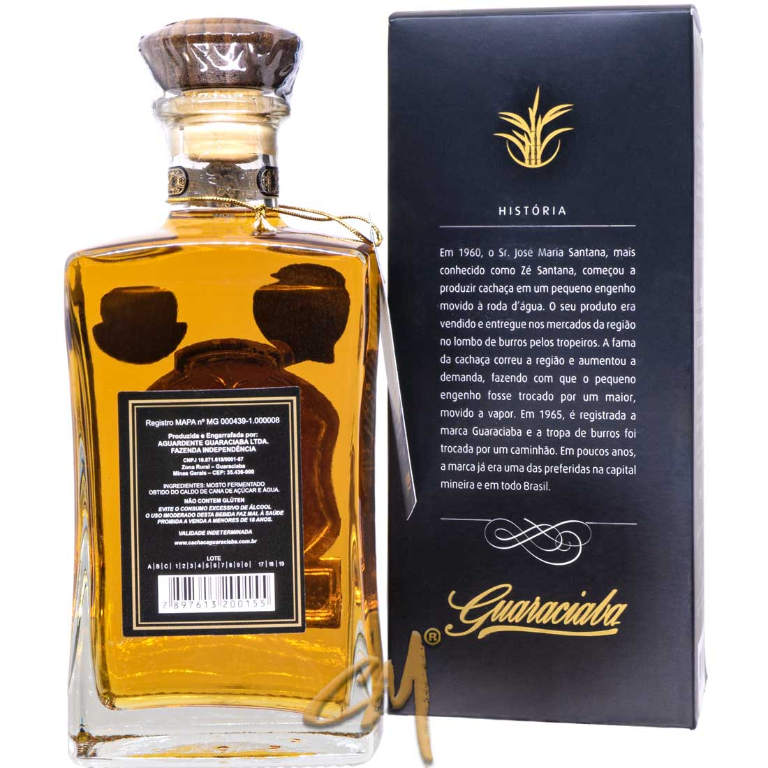 Cachaça Guaraciaba Extra Premium 750 ml (Guaraciaba - MG)