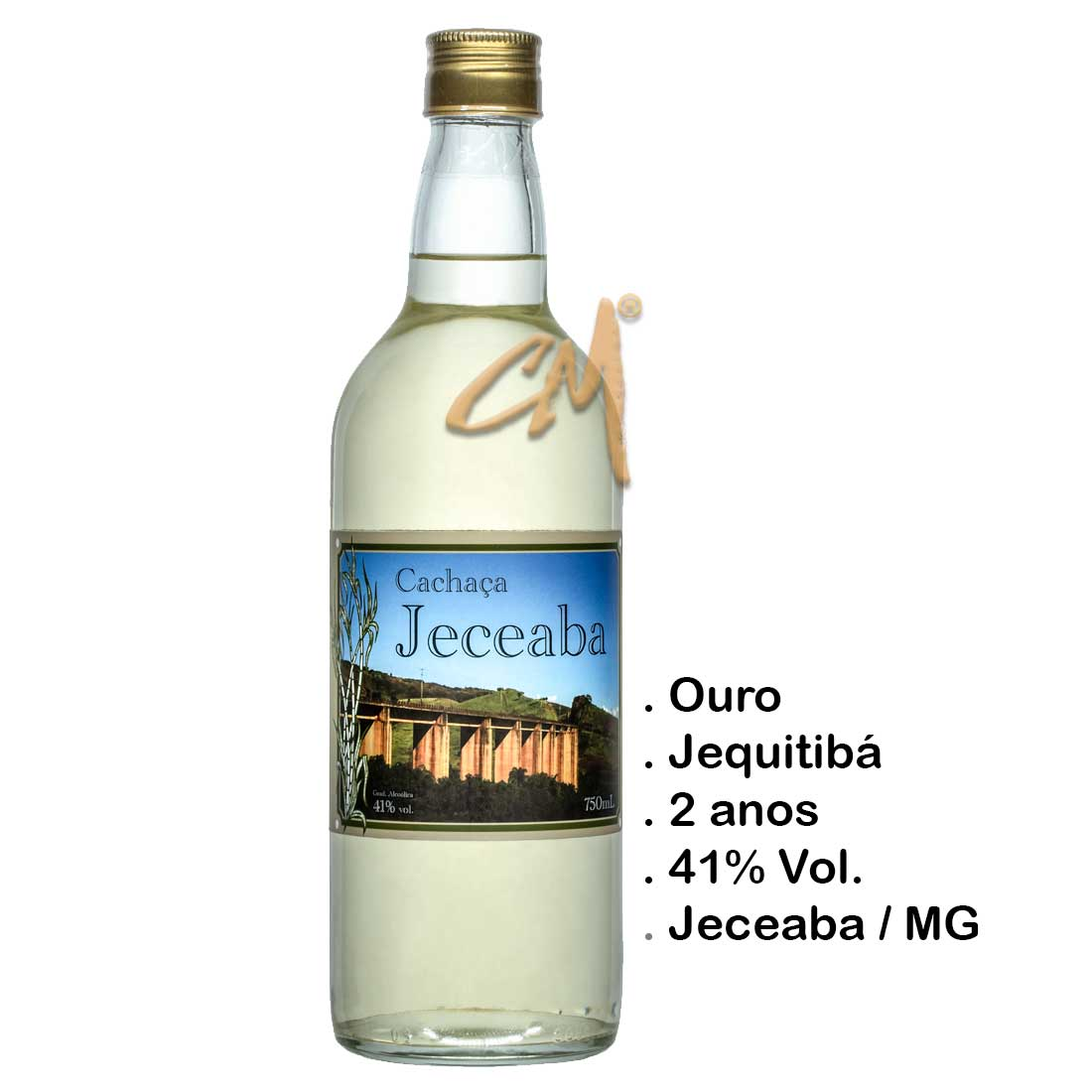 Cachaça Jeceaba 750 ml (Jeceaba - MG)