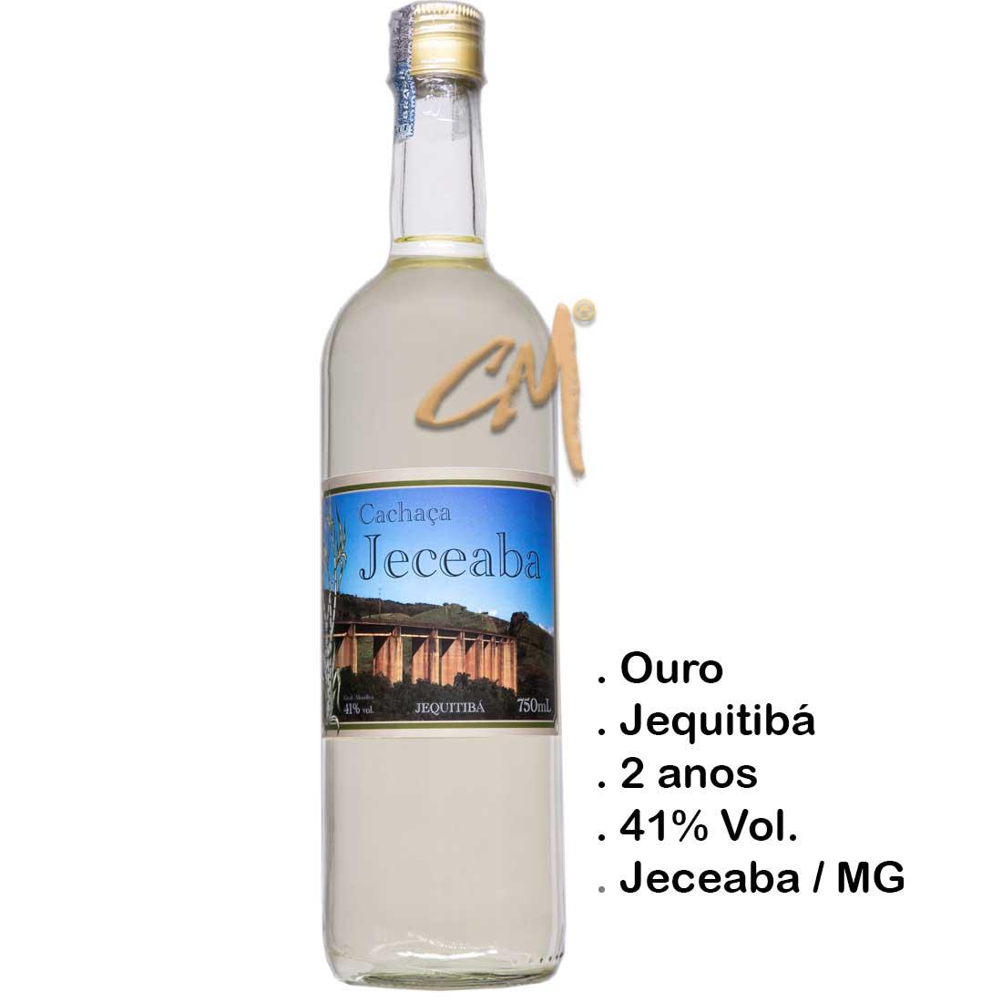 Cachaça Jeceaba 750 ml (Jeceaba - MG)