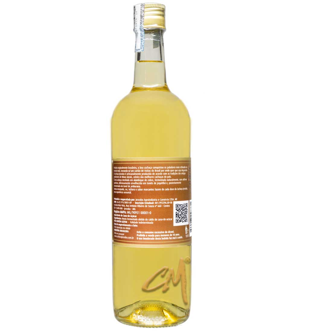Cachaça Jeceaba Amburana 750 ml (Jeceaba - MG)