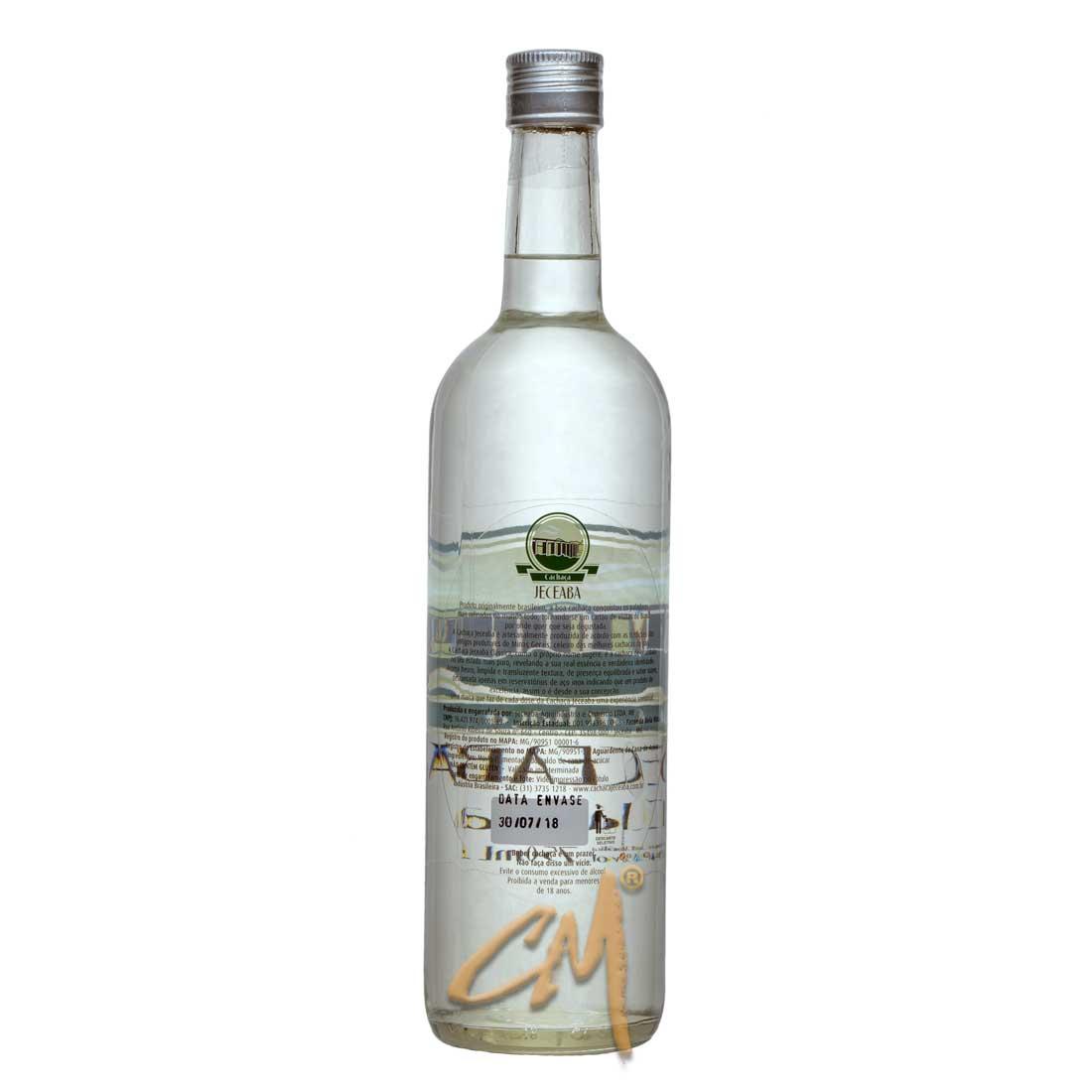 Cachaça Jeceaba Clássica 750 ml (Jeceaba - MG)