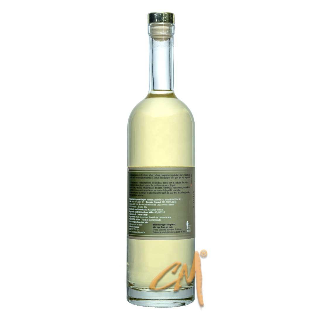 Cachaça Jeceaba Premium 750 ml (Jeceaba - MG)