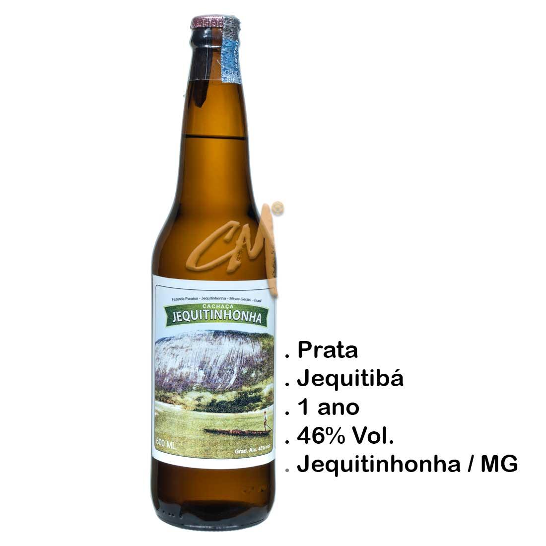 Cachaça Jequitinhonha 600 ml (Jequitinhonha - MG)