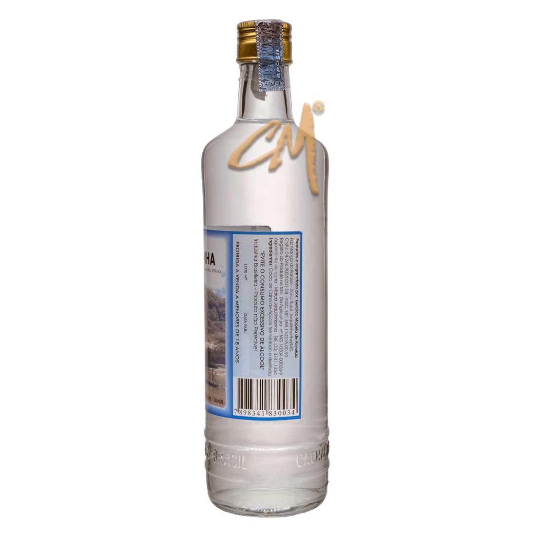 Cachaça Jequitinhonha 700 ml (Jequitinhonha - MG)