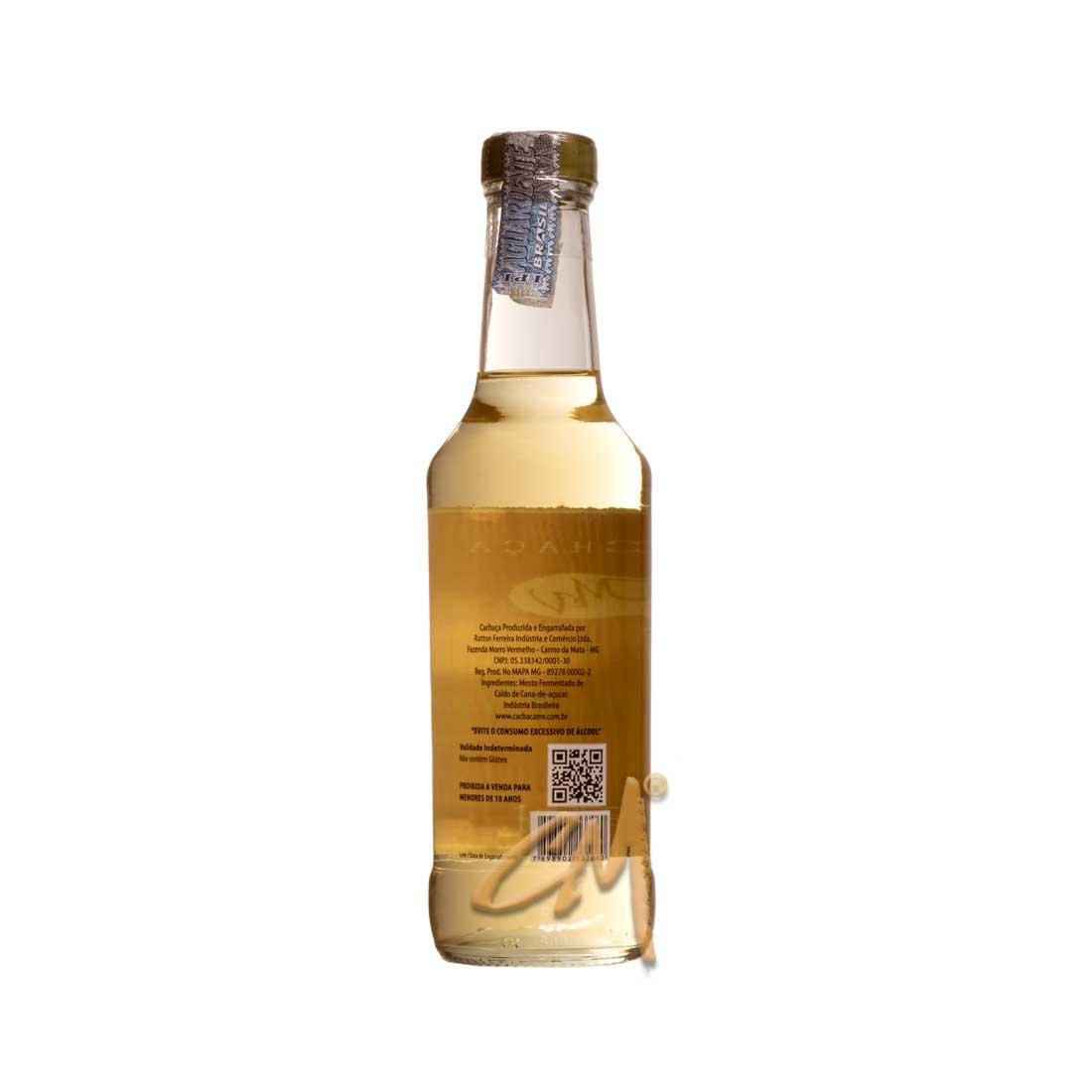 Cachaça Morro Vermelho Ouro 275 ml (Carmo da Mata - MG)
