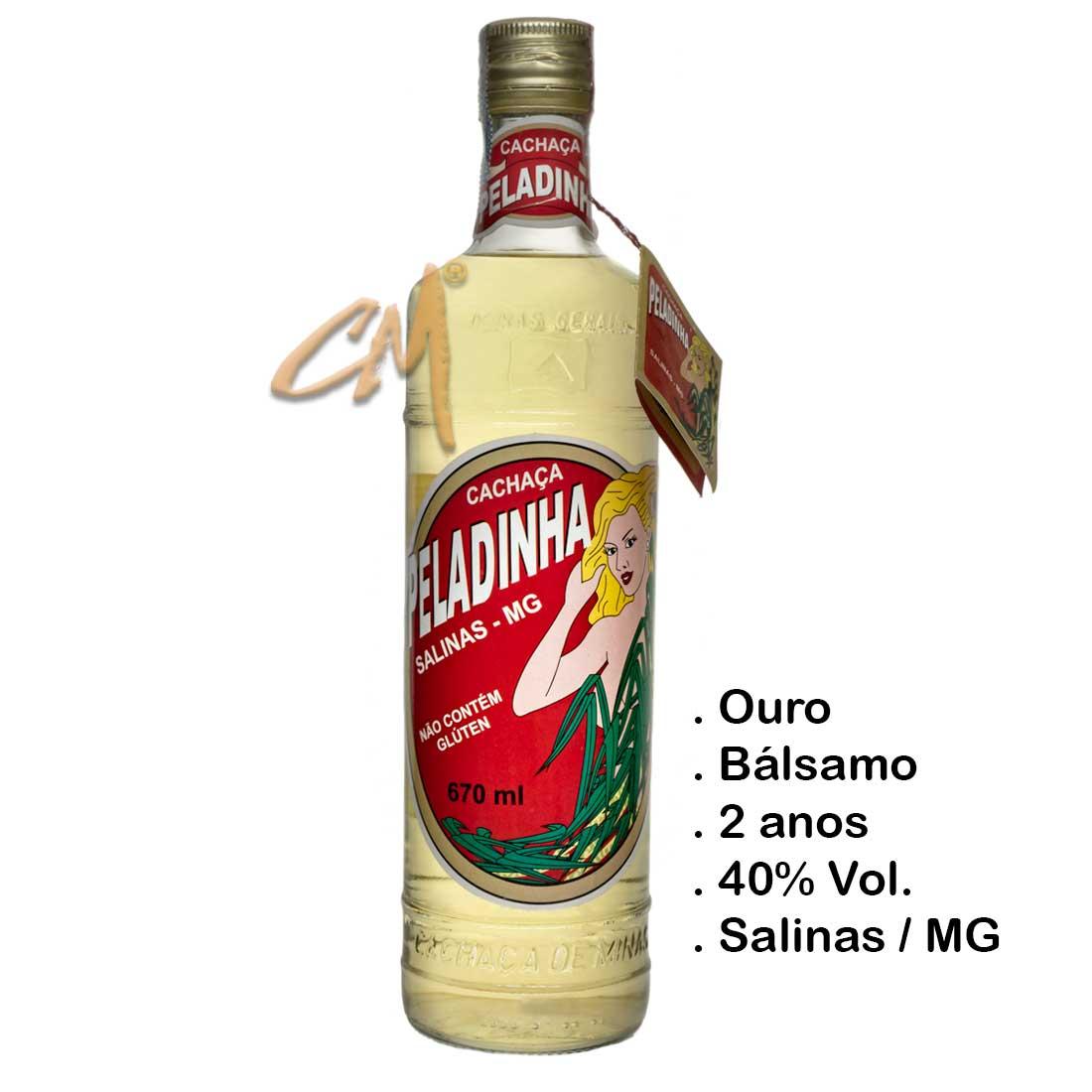 Cachaça Peladinha 670 ml (Salinas - MG)