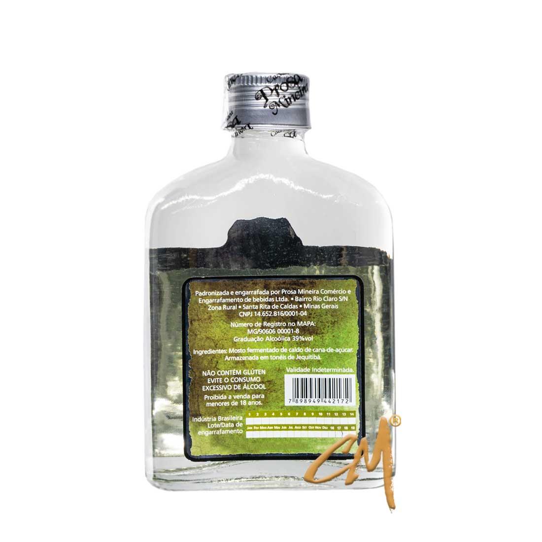 Cachaça Prosa Mineira Clássica 160 ml (Sta Rita de Caldas - MG)