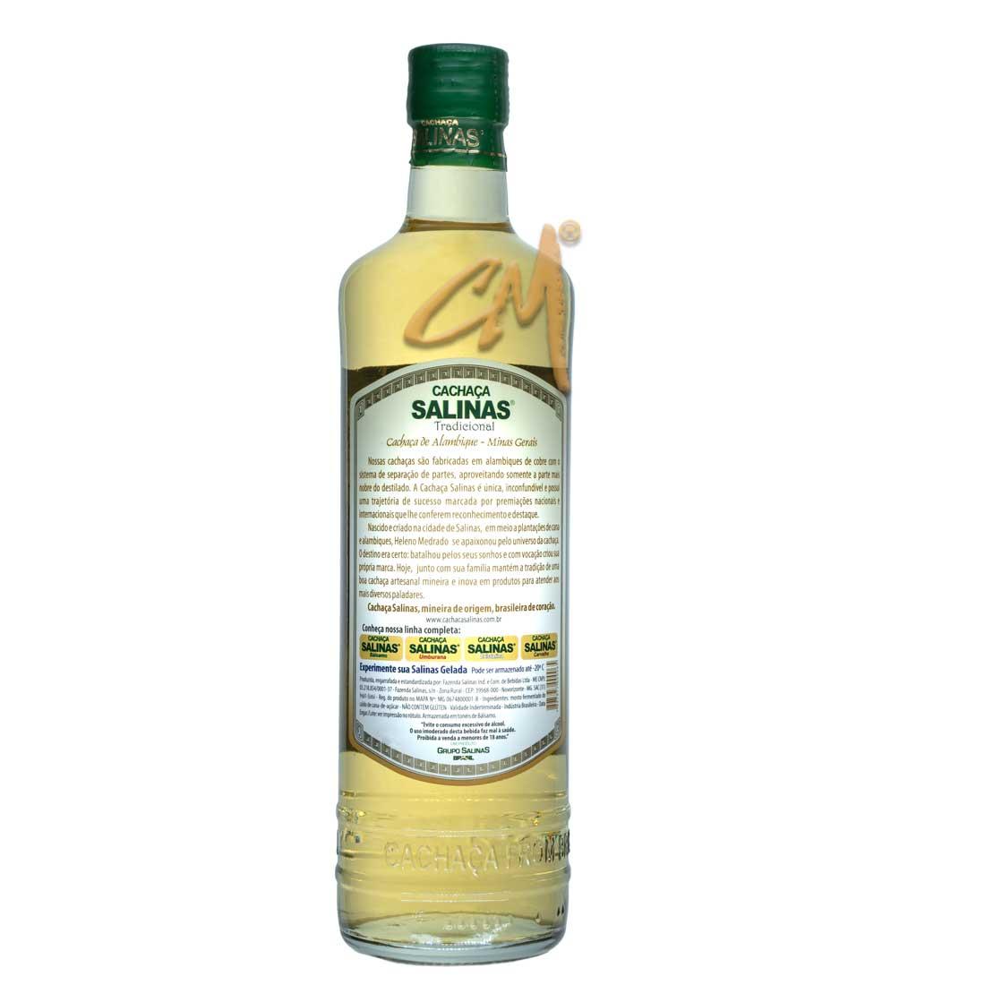 Cachaça Salinas Tradicional 700 ml (Salinas - MG)