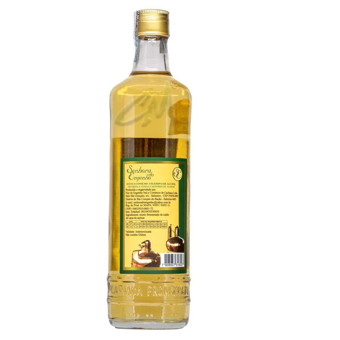 Cachaça Senhora do Engenho 700 ml (Itabirito - MG)