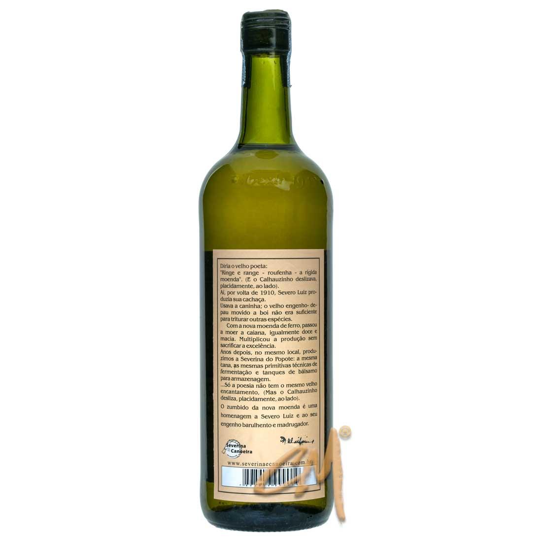 Cachaça Severina do Popote 750 ml (Araçuaí - MG)