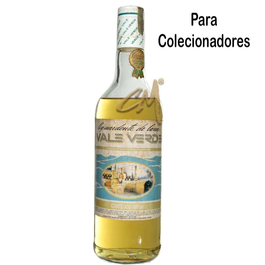 Cachaça Vale Verde 1993 980 ml (Vianópolis - MG) - Coleção
