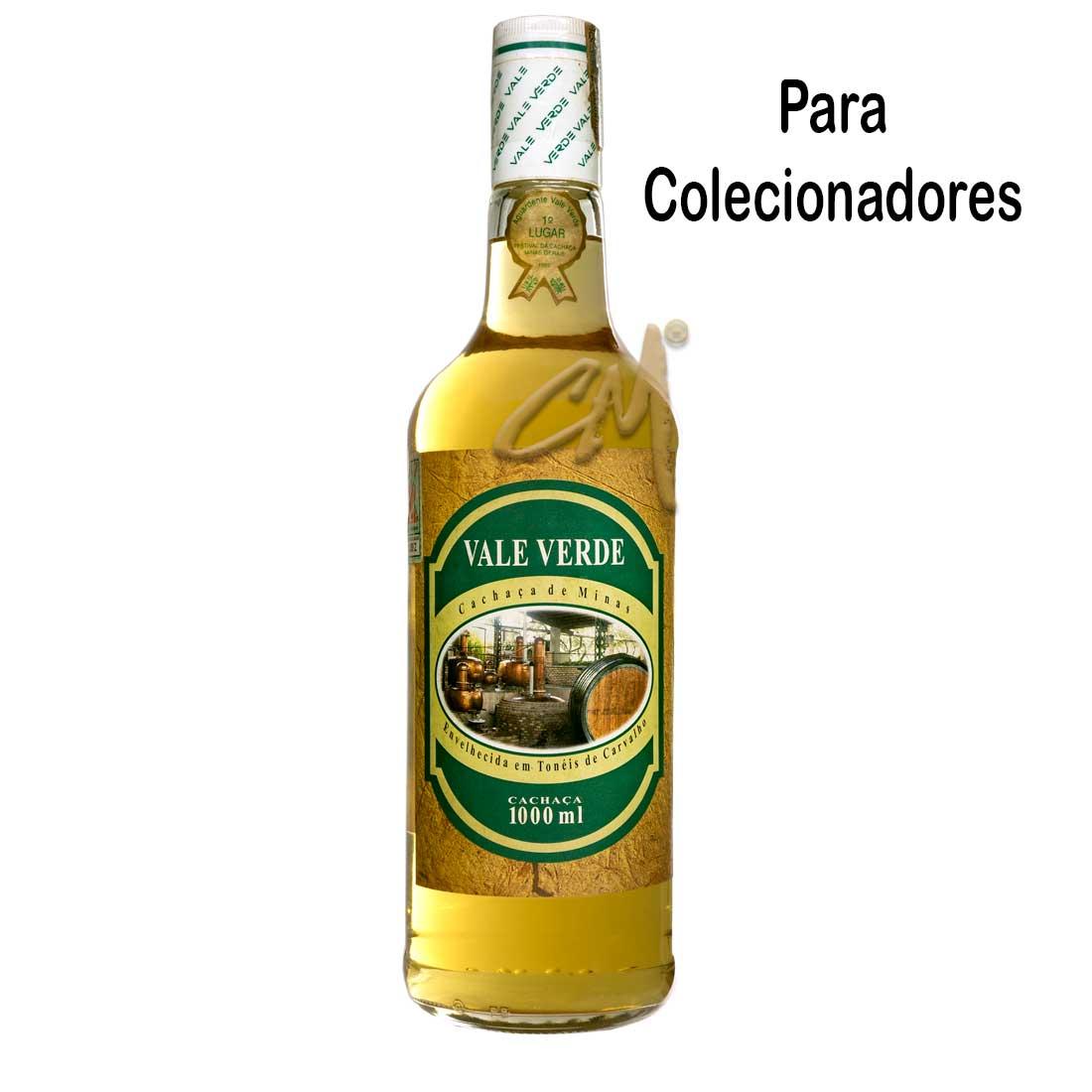 Cachaça Vale Verde 2004 980 ml (Vianópolis - MG) - Coleção