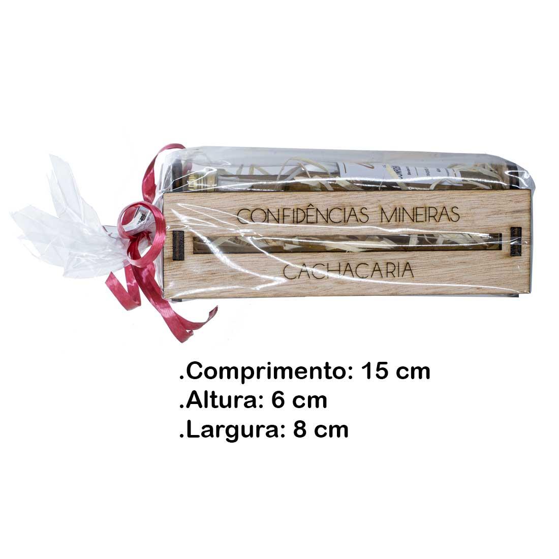 Caixinha Kit Confidências Mineiras - Famosinha  (Tiradentes - MG)