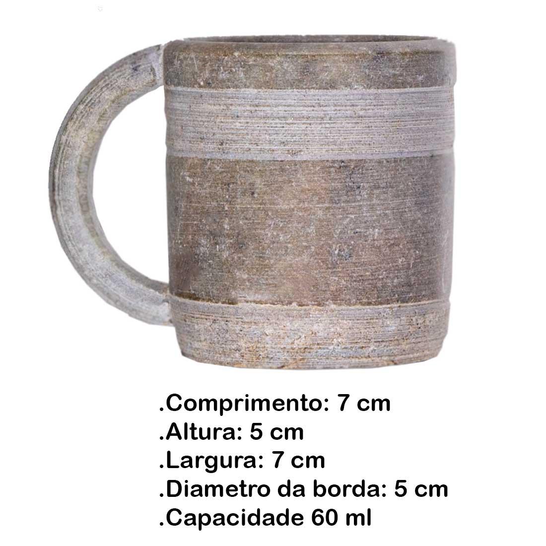 Canequinha de Pedra Sabão 60 ml