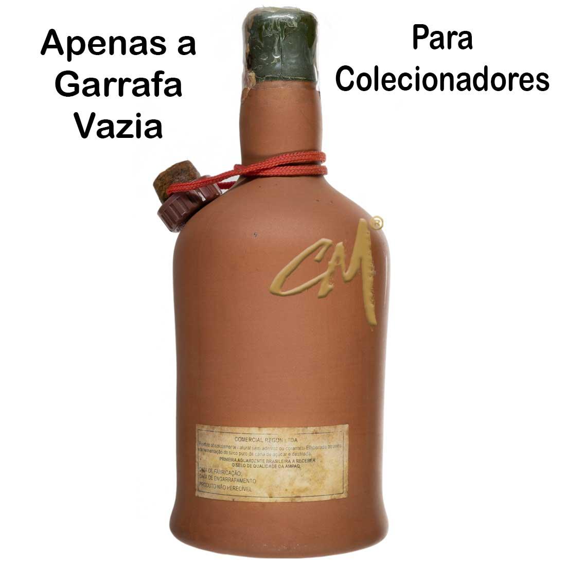 Garrafa de Cachaça Minha Deusa Barro 600 ml (Vianópolis - MG) - Coleção