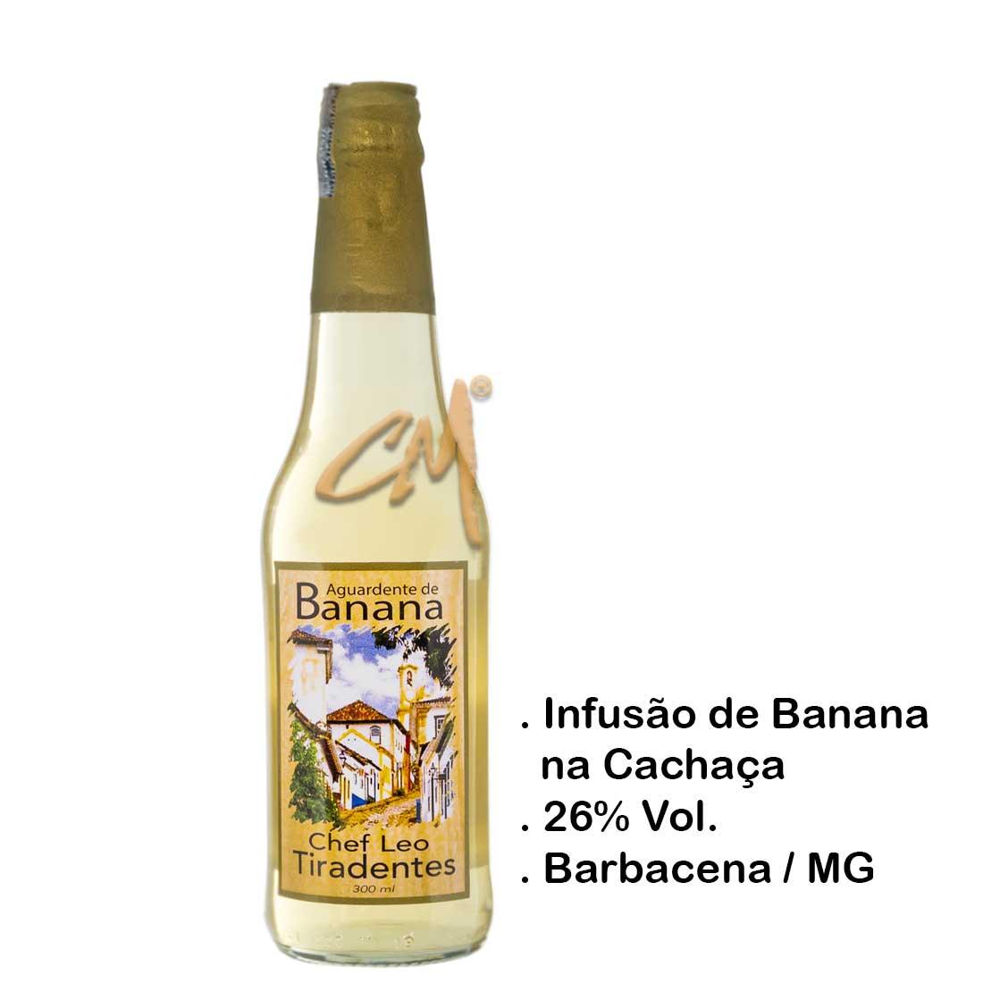 Infusão Bananinha Chef Leo 300 ml (Barbacena - MG)