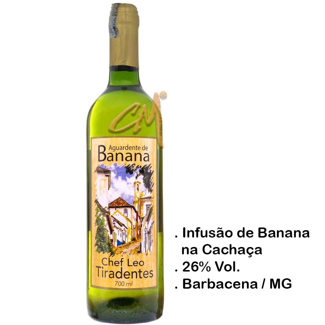 Infusão Bananinha Chef Leo 700 ml (Barbacena - MG)