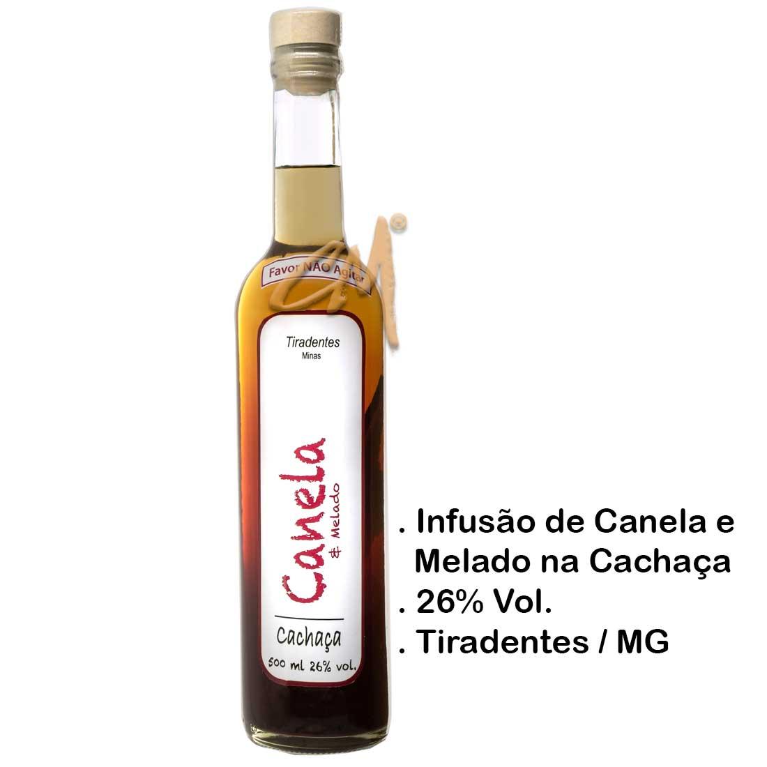 Infusão de Canela na Cachaça 500 ml (Tiradentes - MG)