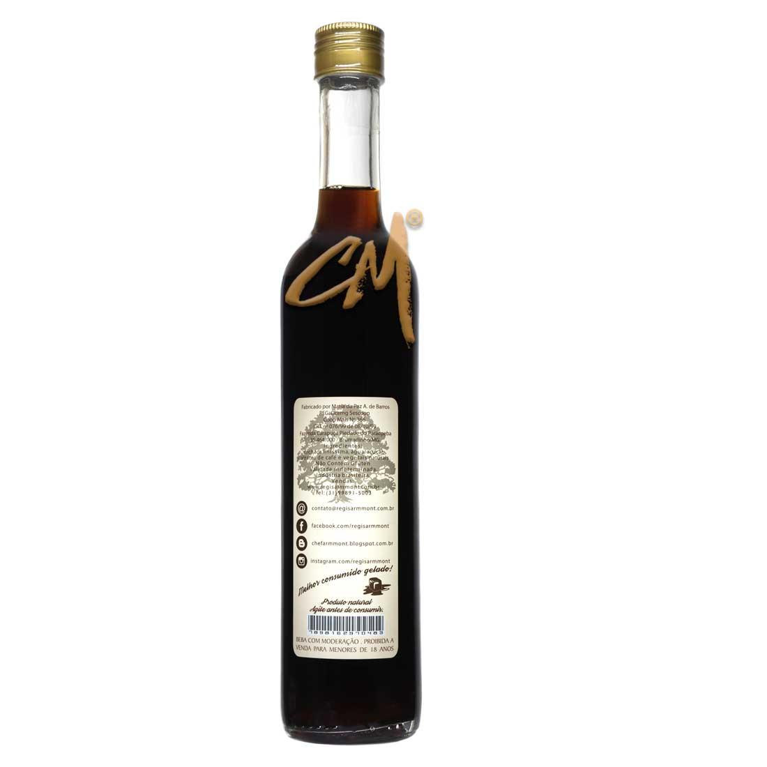 Licor de Café – Régis Armmont 500 ml   (Brumadinho - MG)