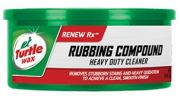 RUBBING COMPOUND - TURTLE WAX