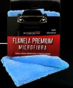 FLANELA PREMIUM AZUL 40X40 X40CM - CORTE LAZER - AUTOAMERICA