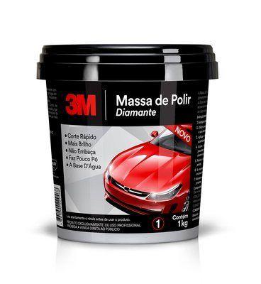 3M MASSA DE POLIR DIAMANTE 1KG