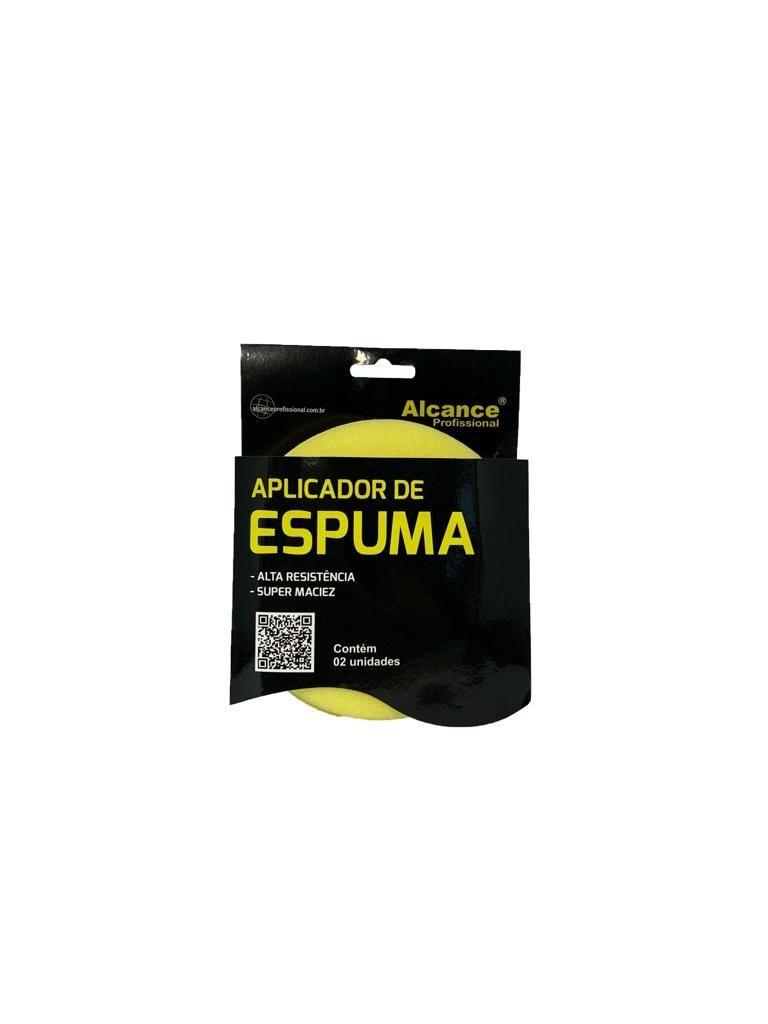 APLICADOR DE ESPUMA - PACK COM 2 UNIDADES ALCANCE