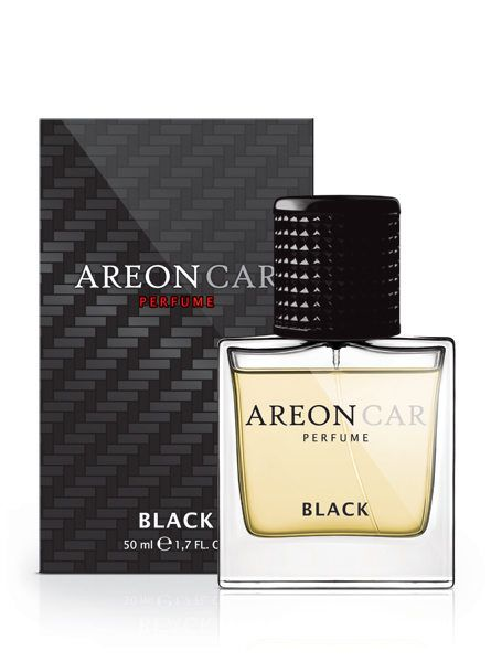 "AREON CAR PERFUME 50ML BLACK ""PRETO"""