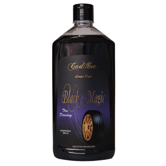 BLACK MAGIC CADILLAC - LIMPA PNEU - 500 ML