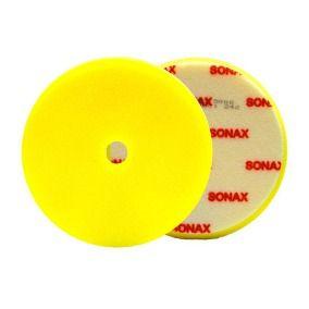 BOINA DE ESPUMA AMARELA 165MM C/FURO SONAX