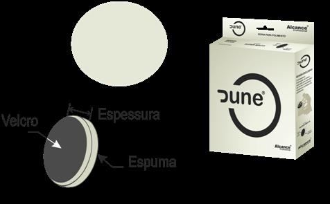 BOINA DE ESPUMA SUPER AGRESSIVA BRANCA - 165mm