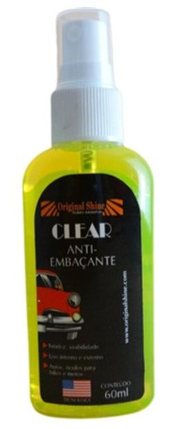 CLEAR ANTI EMBACANTE