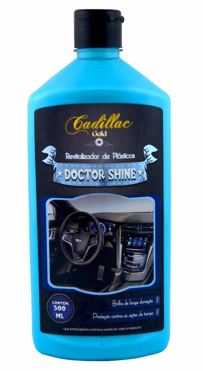 DOCTOR SHINE REVITALIZADOR DE PLÁSTICOS 500 ML - CADILLAC