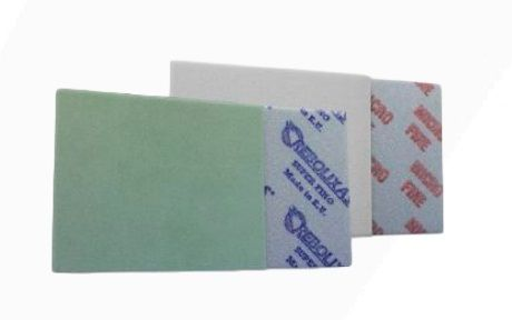 ESPONJA ABRASIVA MICROFINA GRAO 1200-1500 VERDE