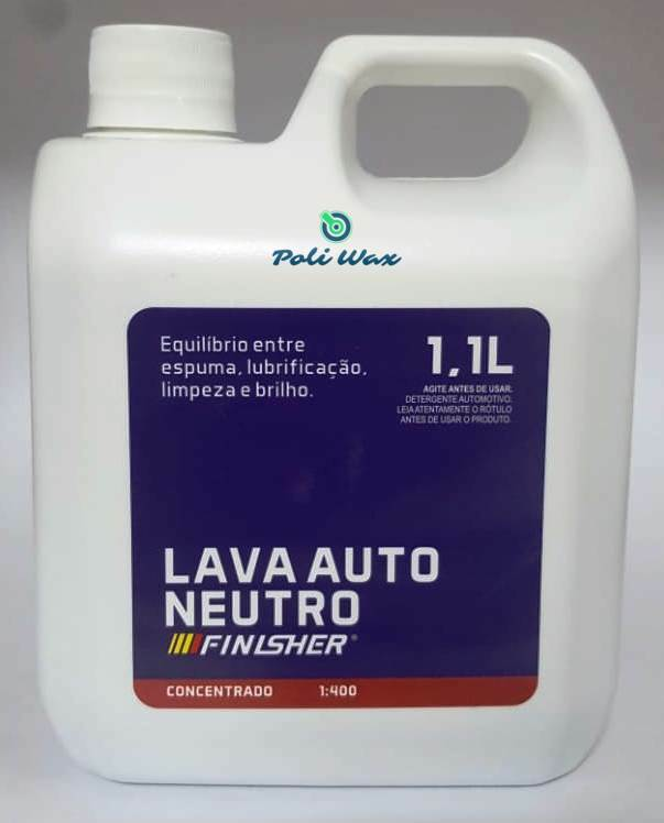 FINISHER® LAVA AUTO NEUTRO 1,1 LITRO