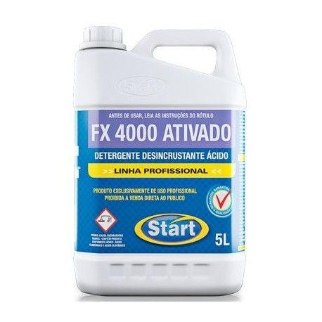 FX 4000  5L 1:40 DETERGENTE ATIVADO