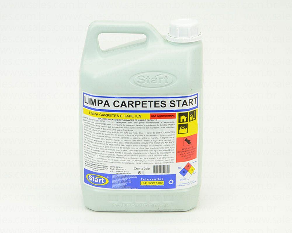 LIMPA CARPETE 5L START DETERGENTE