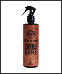 Limpa e hidrata Couro 2×1 Quick Detail 500ml  Easytech